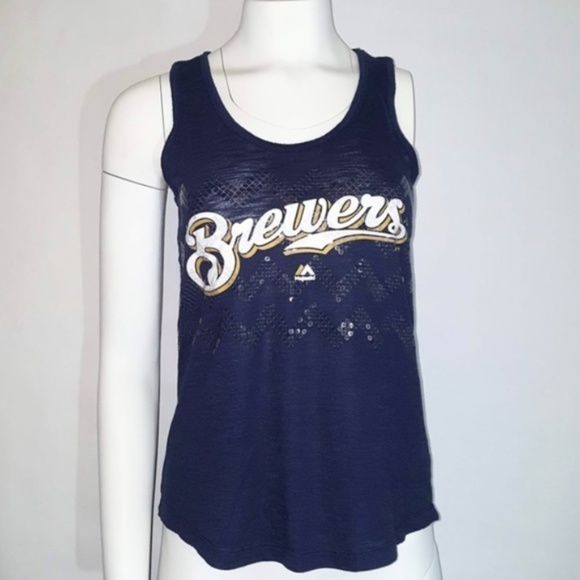 Majestic Tops - Brewers Tank Top